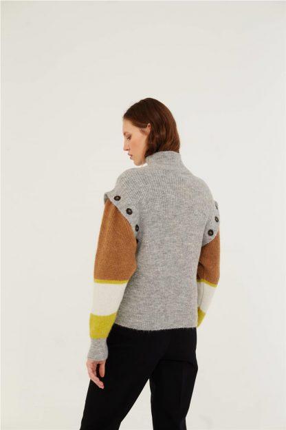 Jersey de lana desmontable