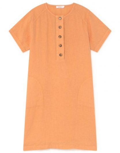 Vestido 100% lino
