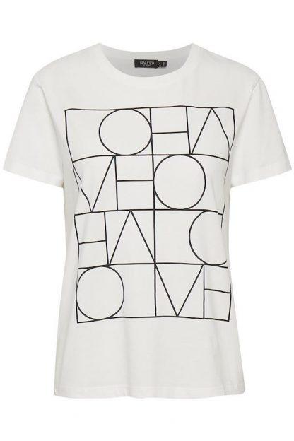 Camiseta letras