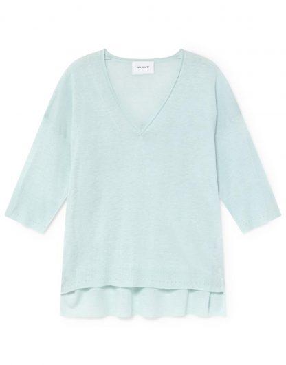 Jersey de lino-viscosa