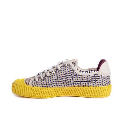 Sneaker vegana AMARILLO