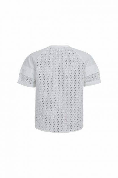 Camisa bordados BLANCO