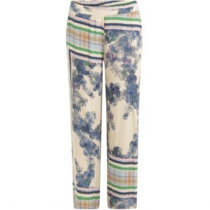 Pantalon estampado con goma