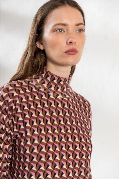 Vestido dibujos geometricos