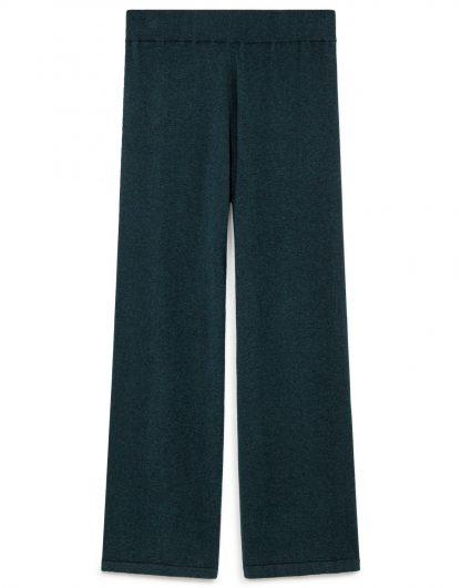 Pantalon palazzo de punto