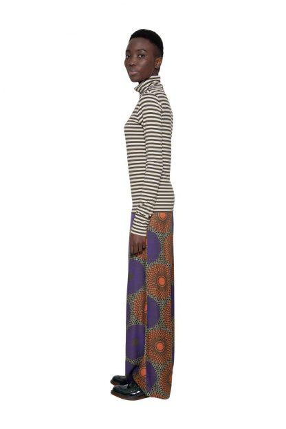 Camiseta con cuello VERDE